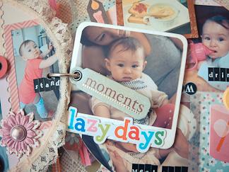 scrapbook mini album for baby girl mayholic in crafts