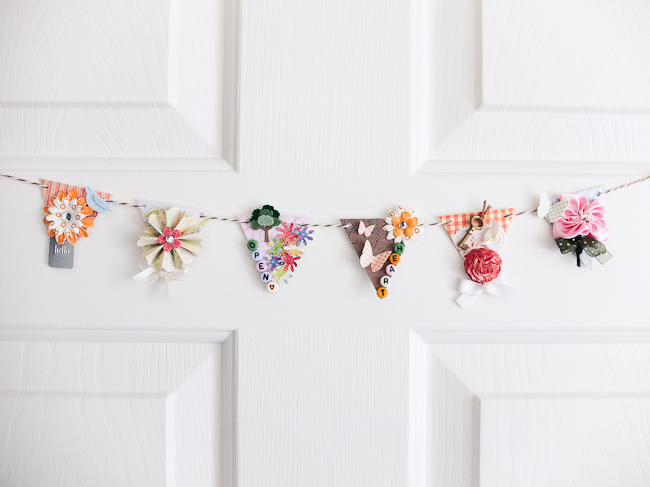 Spring Home Decor Mini Banner Mayholic In Crafts