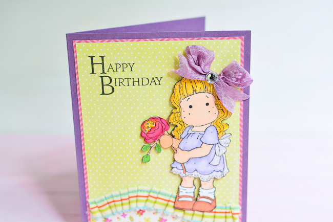 Happy Birthday to a Little Princess Mayholic in Crafts – Happy Birthday Card for Little Girl