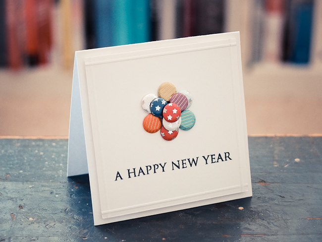 happy new year card january 3 2013