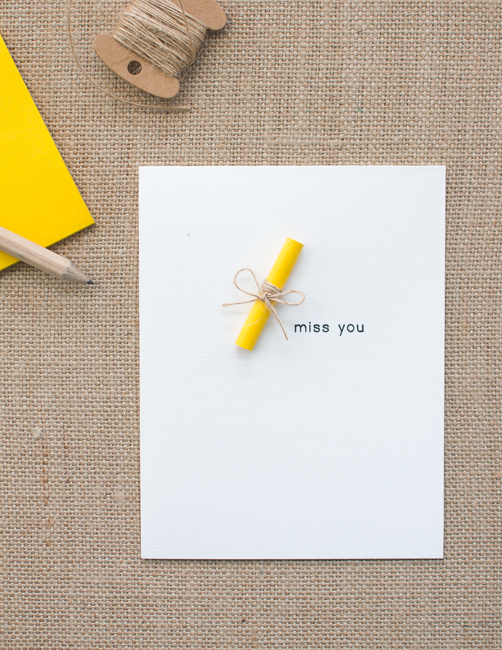 CASology #91: DIY Greeting Cards using Post-it Note