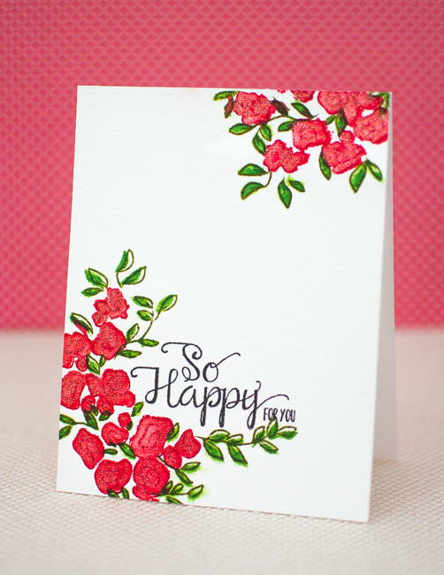 Catered crop faux watercolor greeting card mayholic design flowers vegetables herbs weeds theres just something so therapeutic about getting your hands dirty for this challenge show us anything that might m4hsunfo