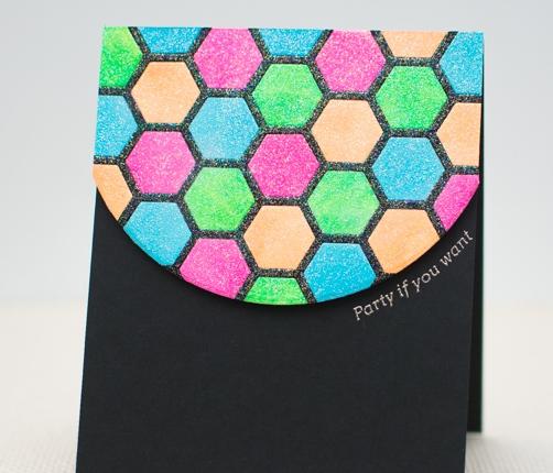 CASology #103: Hexagonal Disco BallCard