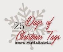 25 Days of Christmas Tags