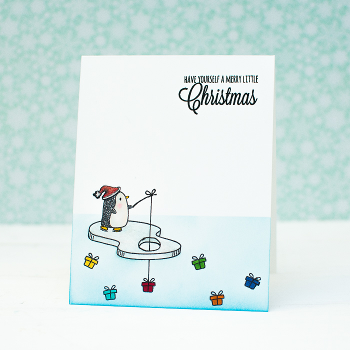 CASology #120: One-Layer CAS Christmas Card – Mayholic in Crafts