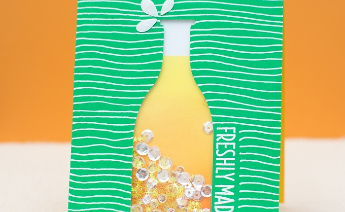 Virginia's View Challenge: Sparkling Lemonade ShakerCard