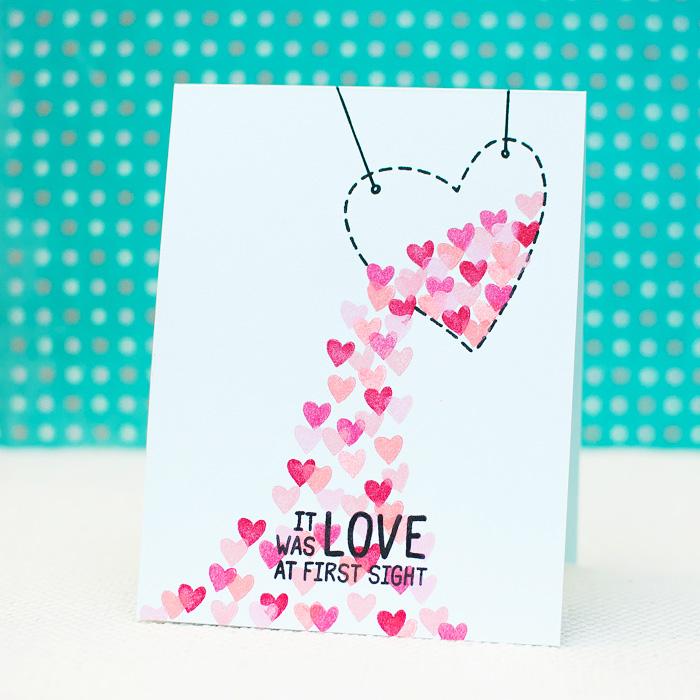 Waffle Flower Love Themed Card Ideas Mayholic In Crafts