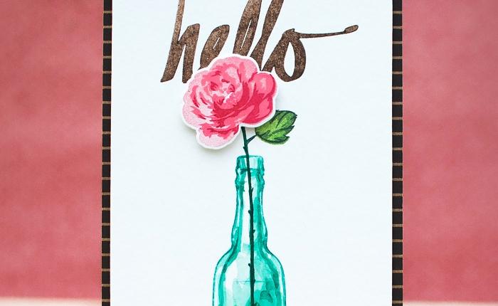 Altenew March Blog Hop + Giveaway : Vintage RoseCards