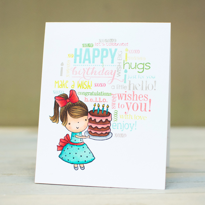 Penny Black Simplicity Mimis Birthday Cards With Stamped