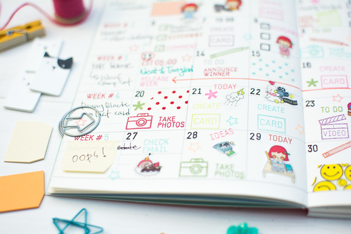 Blog Planner Decoration by May Park_10