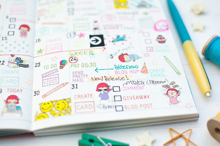 Blog Planner Decoration by May Park_11