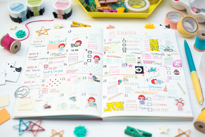 Blog Planner Decoration by May Park_4