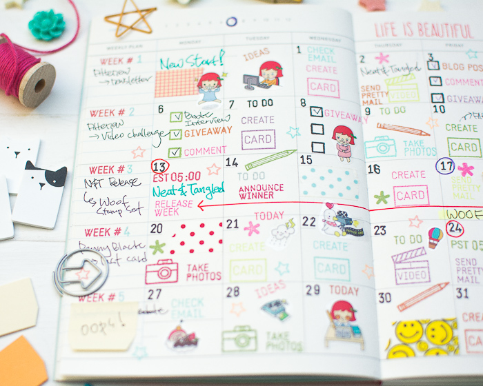 Blog Planner Decoration by May Park_6