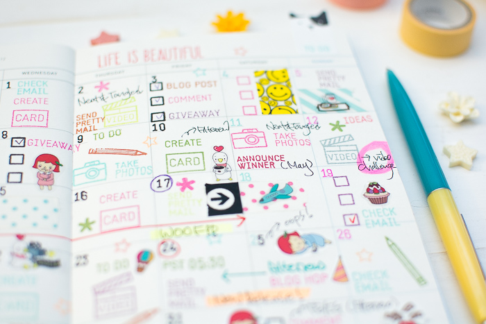 Blog Planner Decoration by May Park_8