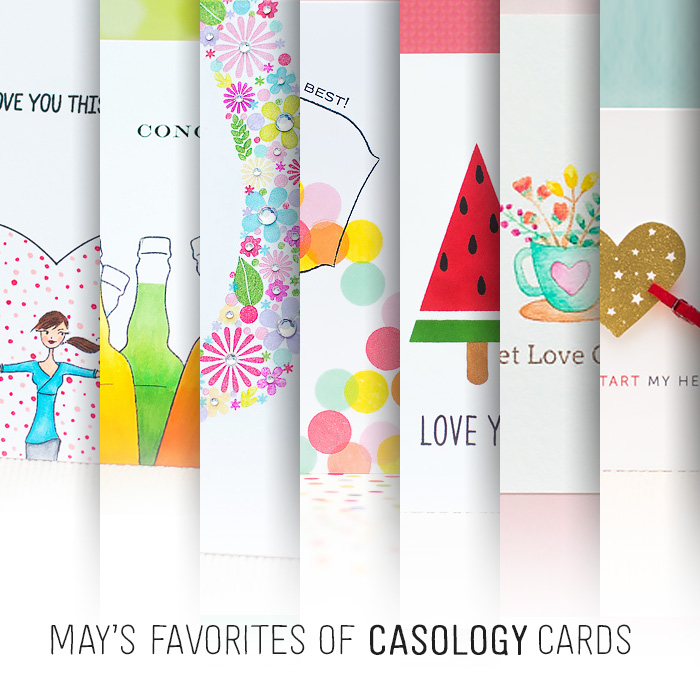 My Favorites of CASology Creations + Giveaway