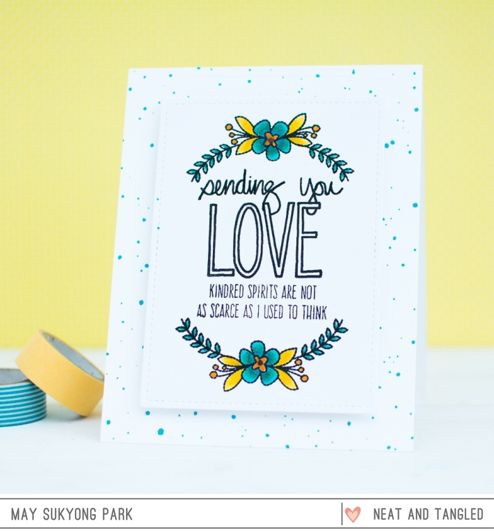 Neat and Tangled_Mixed Sentiment Card using Copic Coloring_May Park_1