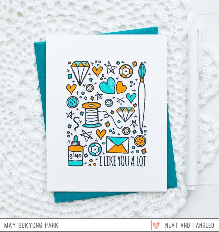 Neat and Tangled_Clean and Simple Card_May_1