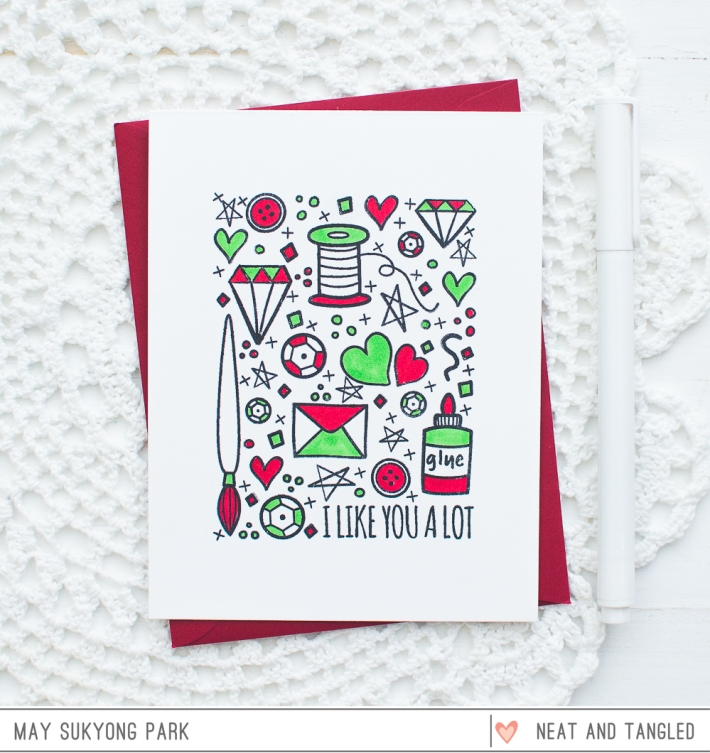 Neat and Tangled_Clean and Simple Card_May_2