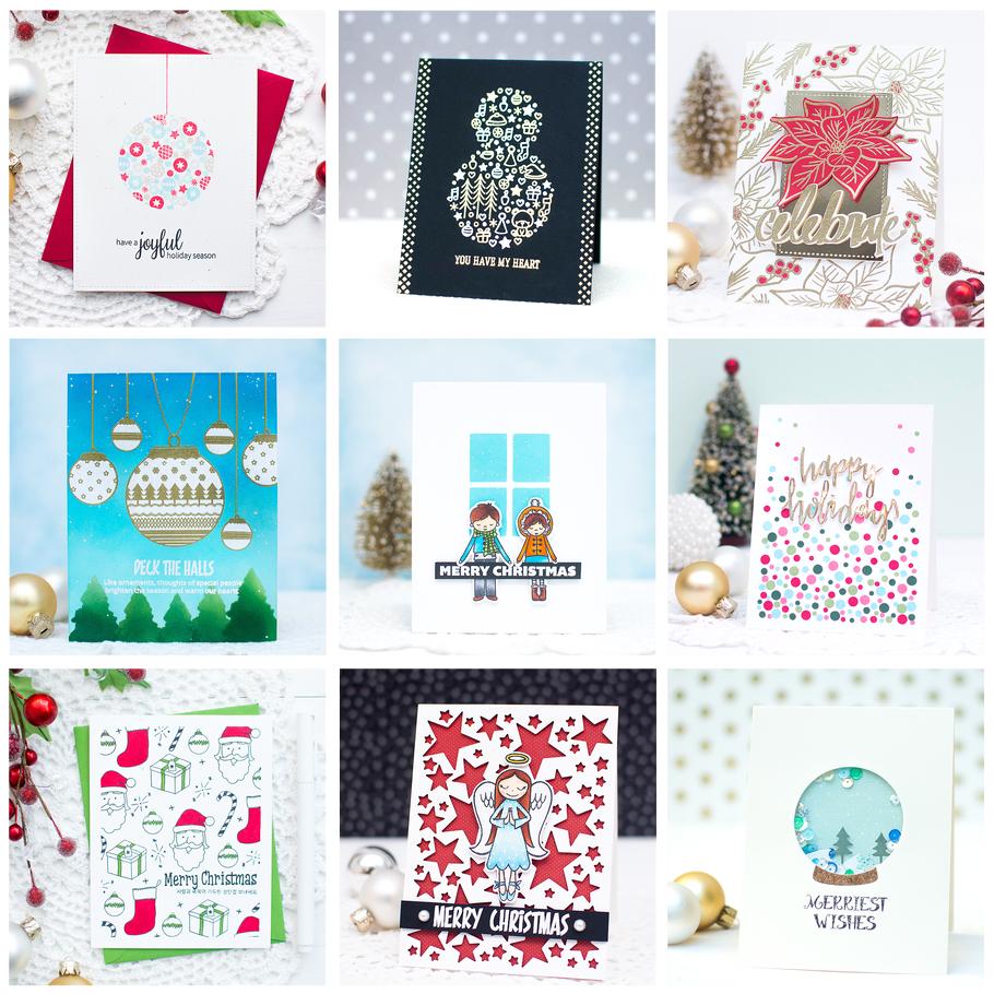 16 DIY Christmas Card Ideas for Friends and Family - Mayholic Design