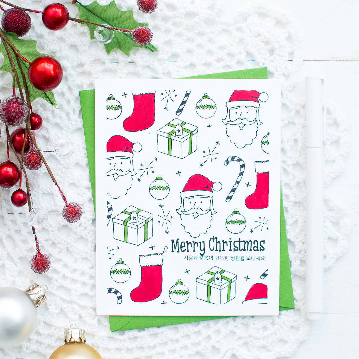 16 DIY Christmas Card Ideas for Friends and Family - Mayholic Design