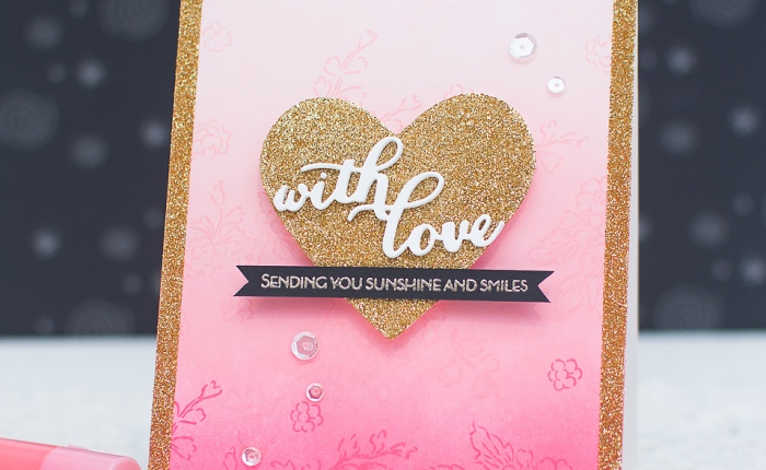 Video+Giveaway: Virginia's View Challenge – Valentine's Day Card