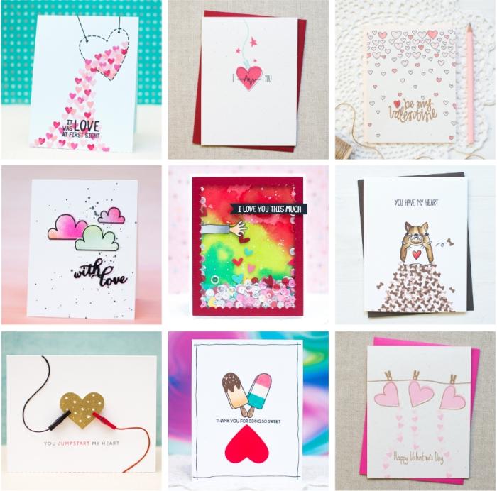 18 DIY Valentine's Day Card Ideas