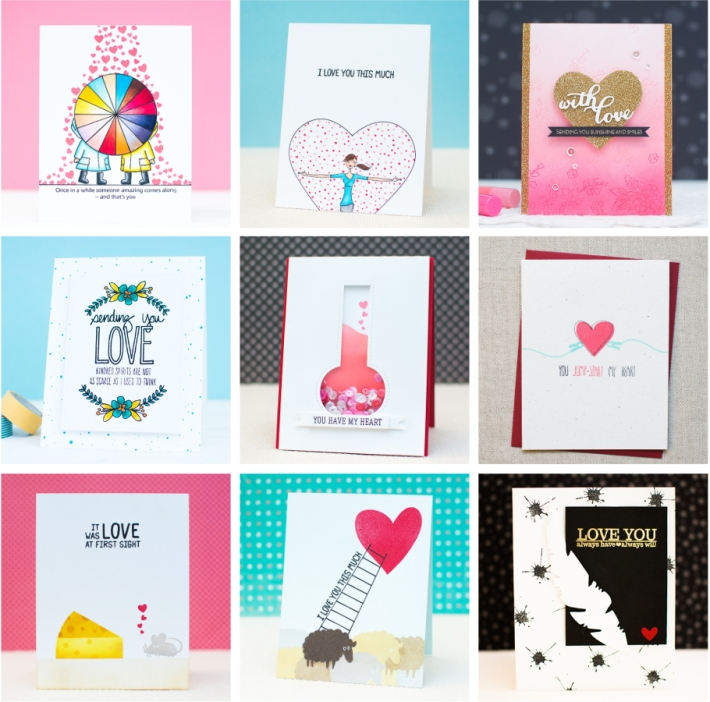 18 DIY Valentine's Day Card Ideas