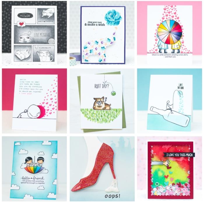 9 DIY Creative Card Ideas with Storytelling