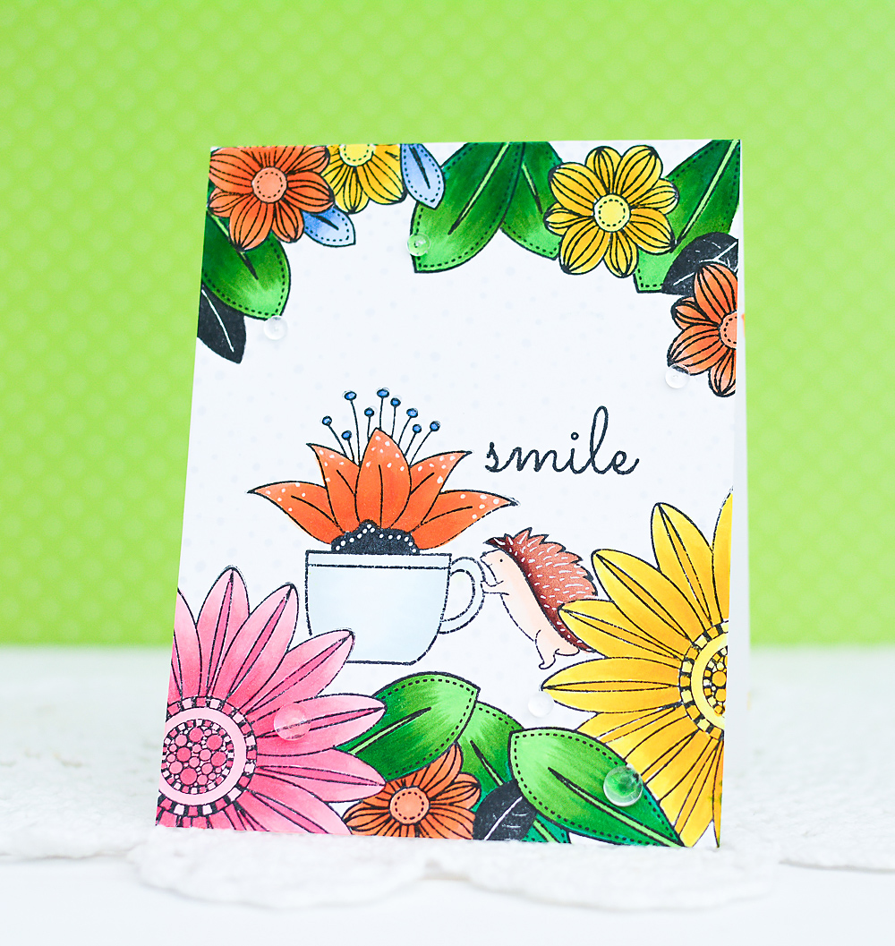 DIY Handmade Card using Copic Markers_5