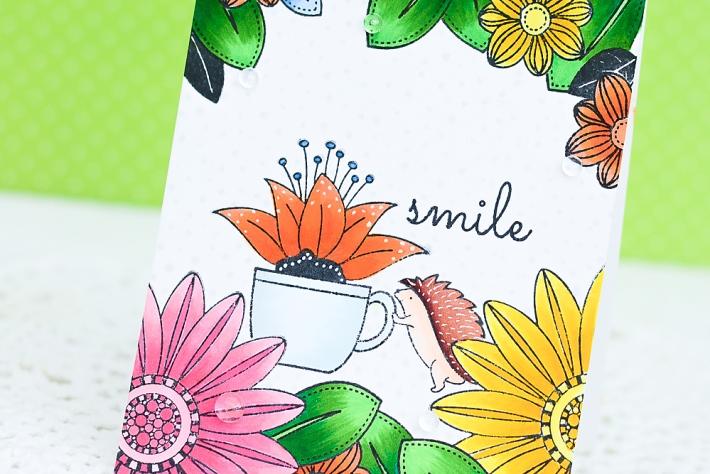 DIY Handmade Card using Copic Markers_4