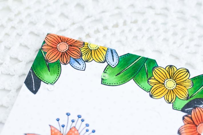 DIY Handmade Card using Copic Markers_3