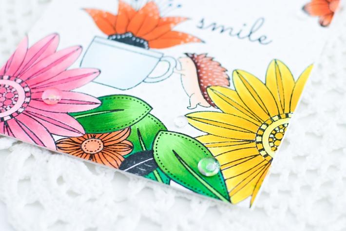 DIY Handmade Card using Copic Markers_2