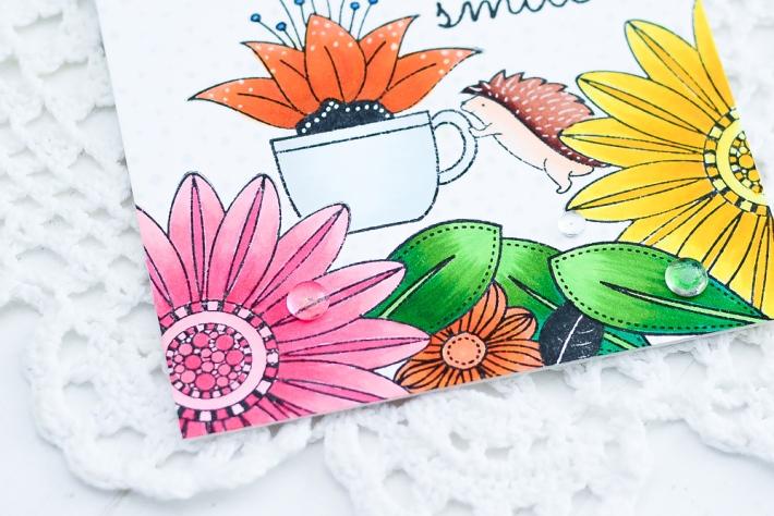 DIY Handmade Card using Copic Markers_1