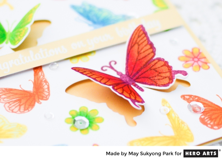 Hero Arts : How-to Video_Birthday Card_Stamping and Coloring