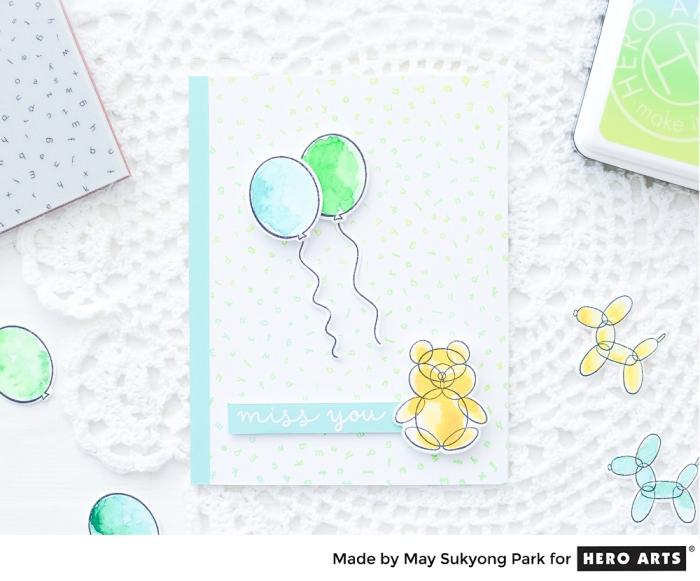 HeroArts_Watercolor Balloon Card_PeerlessWatercolors_7