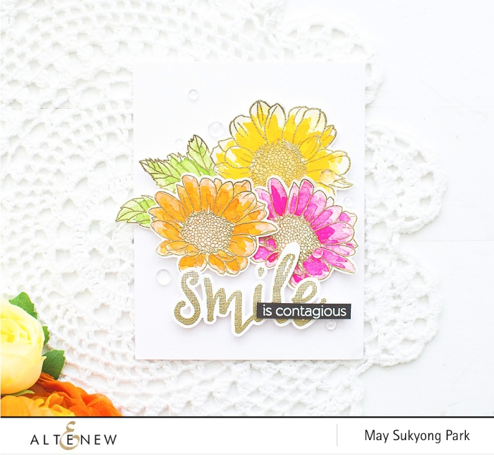 How To Video_DIYFlowerCard_Watercoloring